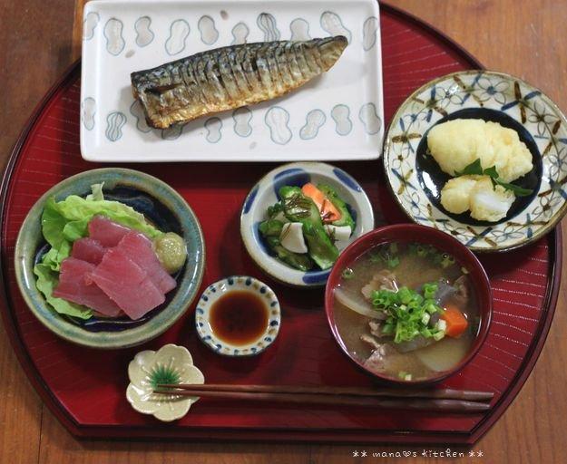 シウマイ&炒飯 ✿ 豚汁定食(๑¯﹃¯๑)♪_c0139375_116236.jpg