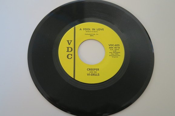 creeper and the vi dells a fool in love vdc sound clip lookin