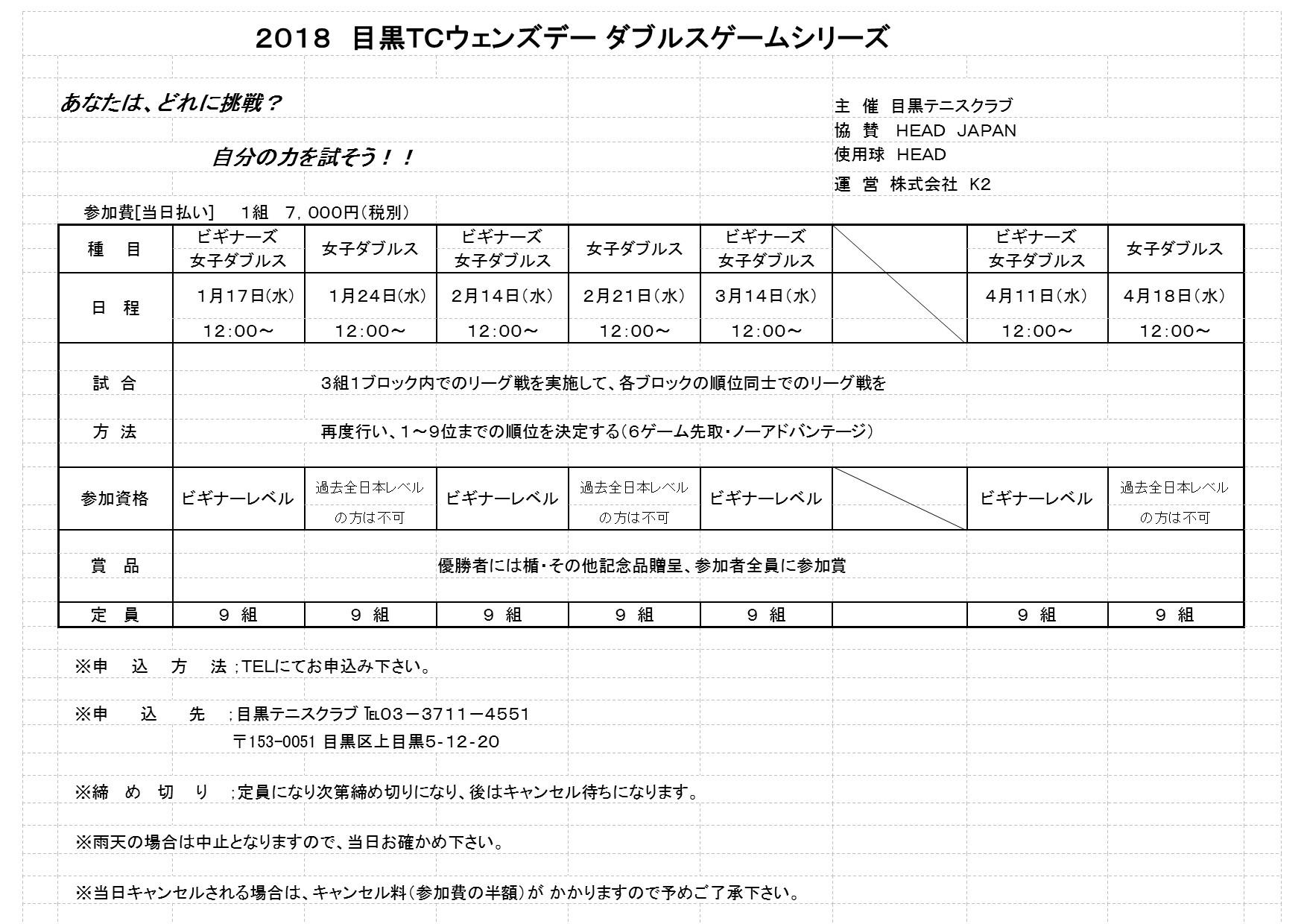 2018.1月~4月ウエンズデートーナメントのお知らせ_b0158200_14522954.jpg