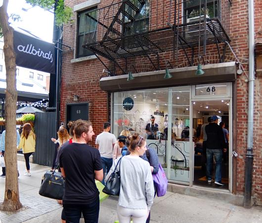 今、ニューヨークで注目の靴屋さん、羊毛シューズのオールバーズ Allbirds_b0007805_2039302.jpg