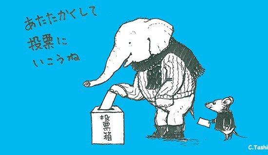 選挙の日はお天気が悪そうですが_d0135608_13361299.jpg