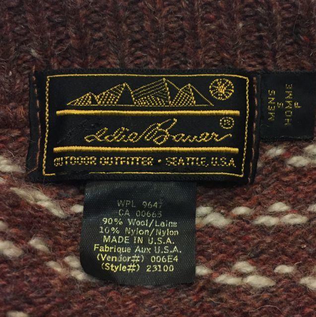 11月11日(土)入荷!80s エディーバウアー セーター! MADE IN U.S.A_c0144020_15043168.jpg