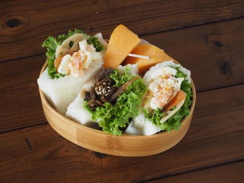 牛肉とごぼうのしぐれ煮ポケットサンド弁当_c0270834_08392462.jpeg