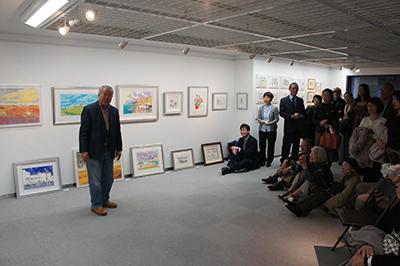 イシイタカシ情景画展ー海と沃野、村人たちとのかかわりー開催中!_f0171840_14572351.jpg