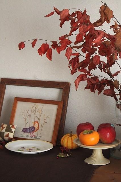 暖色系の秋のインテリア_f0374092_22163620.jpg