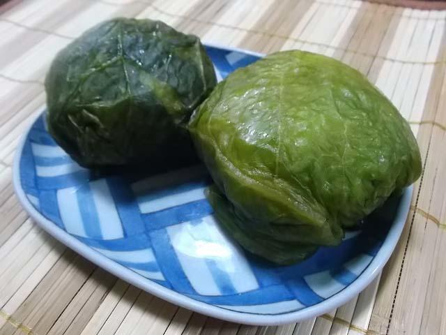 山形青菜(せいさい)漬け仕込(下漬け)_f0019498_17204389.jpg