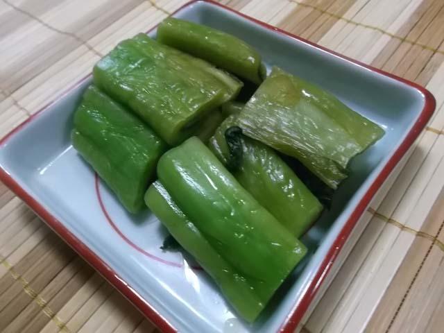 山形青菜(せいさい)漬け仕込(下漬け)_f0019498_17205483.jpg