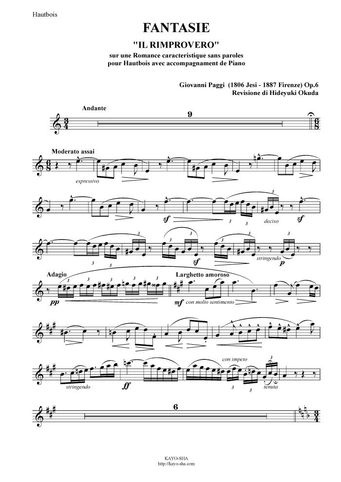 パッジ:幻想曲「とがめ」 言葉の無い特徴的なロマンス Op.6_b0189423_13084354.jpg