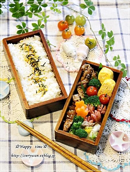 豚の生姜焼き弁当と今日のわんこ(陽だまり編)♪_f0348032_17471847.jpg