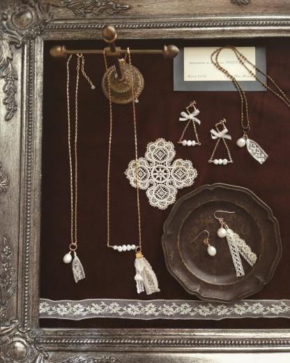 作品展&ワークショップ「冬のパリ 〜antique laceを纏って〜」at Loin_e0073946_14000374.jpg