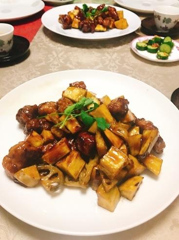 潮州粉果、黒酢酢豚レッスン_a0175348_19504275.jpg