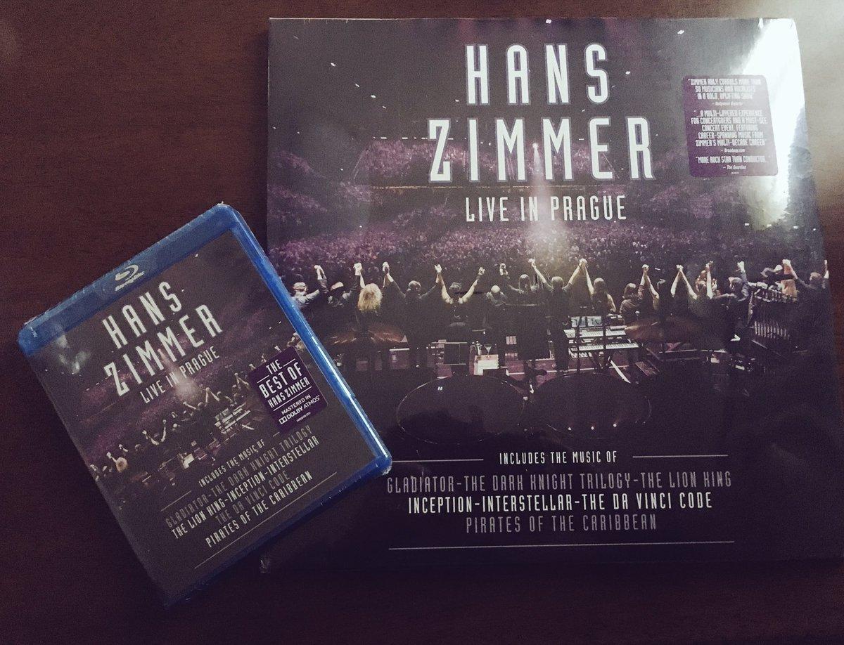 ハンス・ジマーのライブ・アルバムが届いた。 LPとBDの音響の差 - Suzuki-Riの道楽