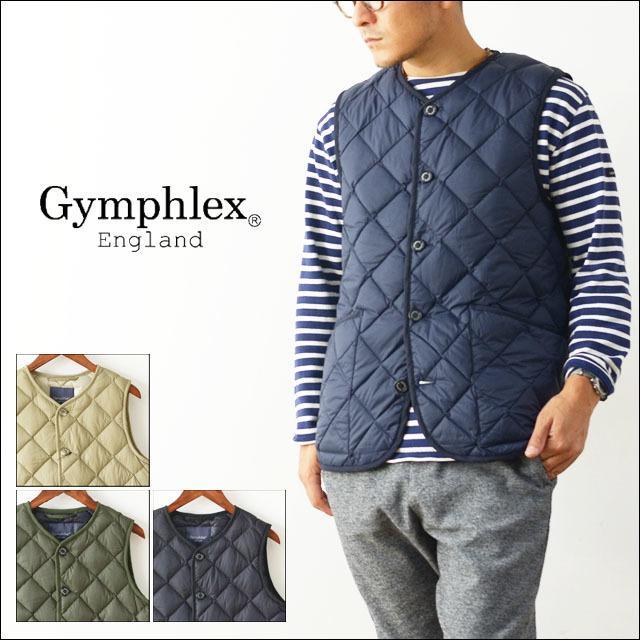 Gymphlex [ジムフレックス] HAND QUILT DOWN VEST ハンドキルトダウンベスト [J-1266NOK] ダウンベスト・アウター・男性用・MEN\'S _f0051306_18175693.jpg