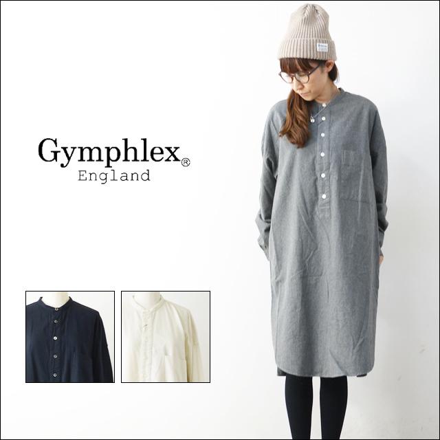 Gymphlex [ジムフレックス] 60/2ビエラ起毛無地 LS SHIRTS [J-1257BSD] 起毛ロングシャツ/シャツワンピース LADY\'S _f0051306_18251464.jpg