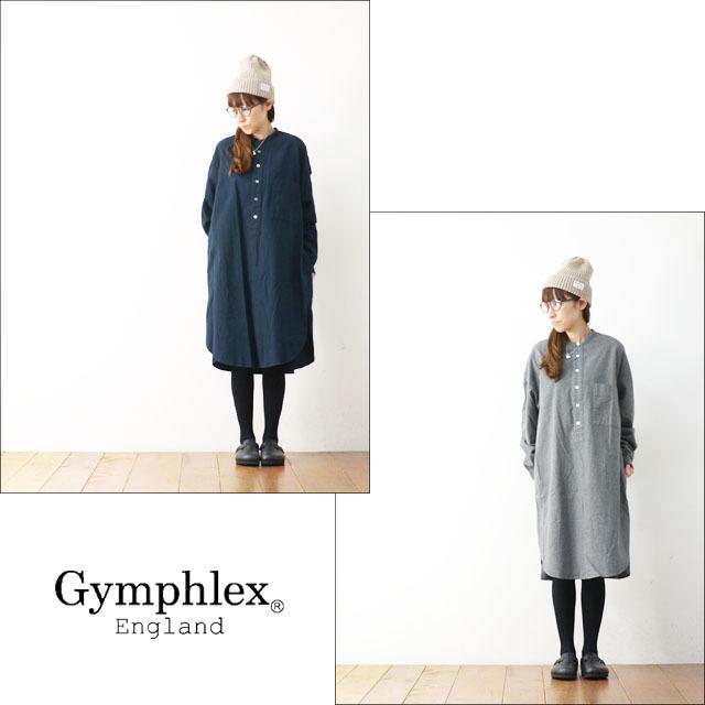 Gymphlex [ジムフレックス] 60/2ビエラ起毛無地 LS SHIRTS [J-1257BSD] 起毛ロングシャツ/シャツワンピース LADY\'S _f0051306_18252013.jpg