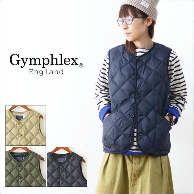 Gymphlex [ジムフレックス] HAND QUILT DOWN VEST [J-1266NOK] ハンドキルトベスト・アウター・女性用・LADY\'S _f0051306_18281847.jpg