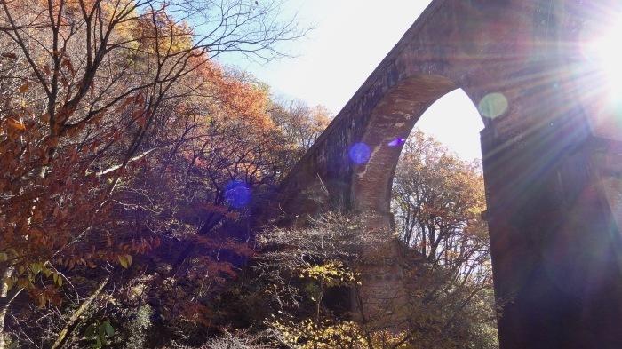 紅葉狩り2017年 ①  めがね橋 2017年11月12日(日)_b0290816_12311701.jpg