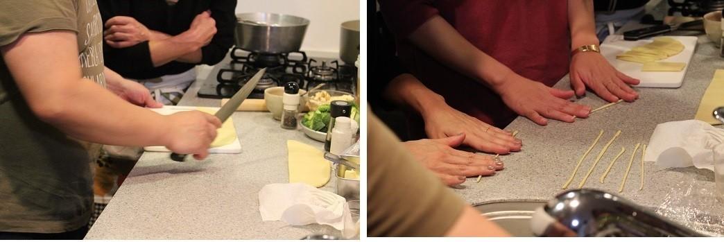 至福の時間。イタリアンレストランのシェフが拙宅で料理。_f0362073_15234247.jpg
