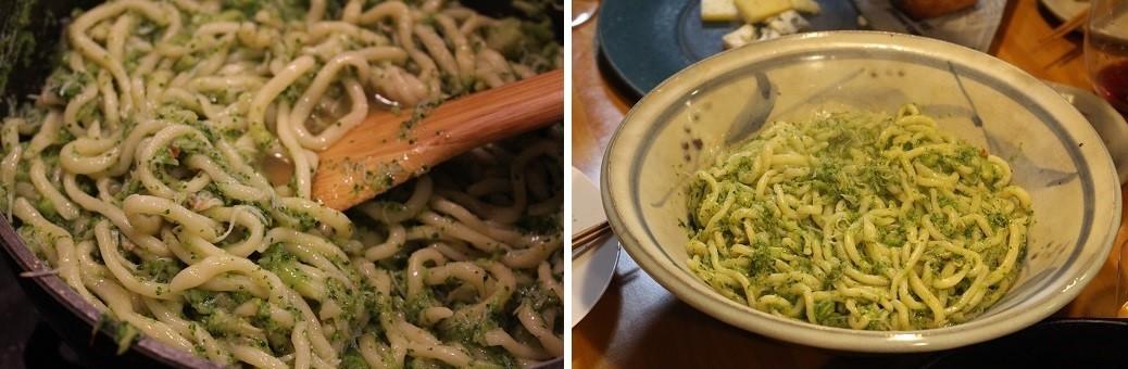 至福の時間。イタリアンレストランのシェフが拙宅で料理。_f0362073_15244283.jpg
