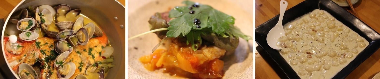 至福の時間。イタリアンレストランのシェフが拙宅で料理。_f0362073_15283300.jpg