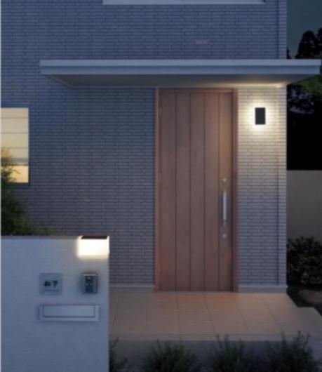 玄関ポーチの照明計画_f0028675_23075704.jpg