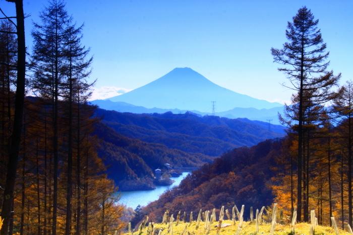 29年11月の富士(8)上日川峠の富士_e0344396_20064994.jpg