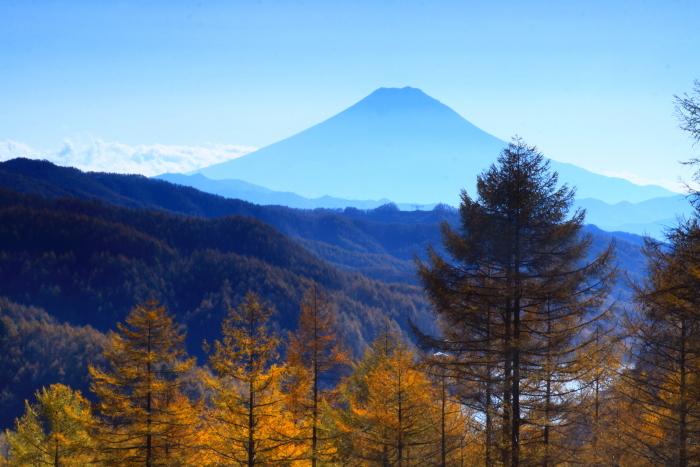 29年11月の富士(8)上日川峠の富士_e0344396_20182189.jpg
