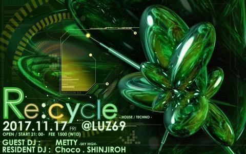 Re:cycle vol.9  (2k17.11.17 @LUZ69)_e0115904_15145368.jpg