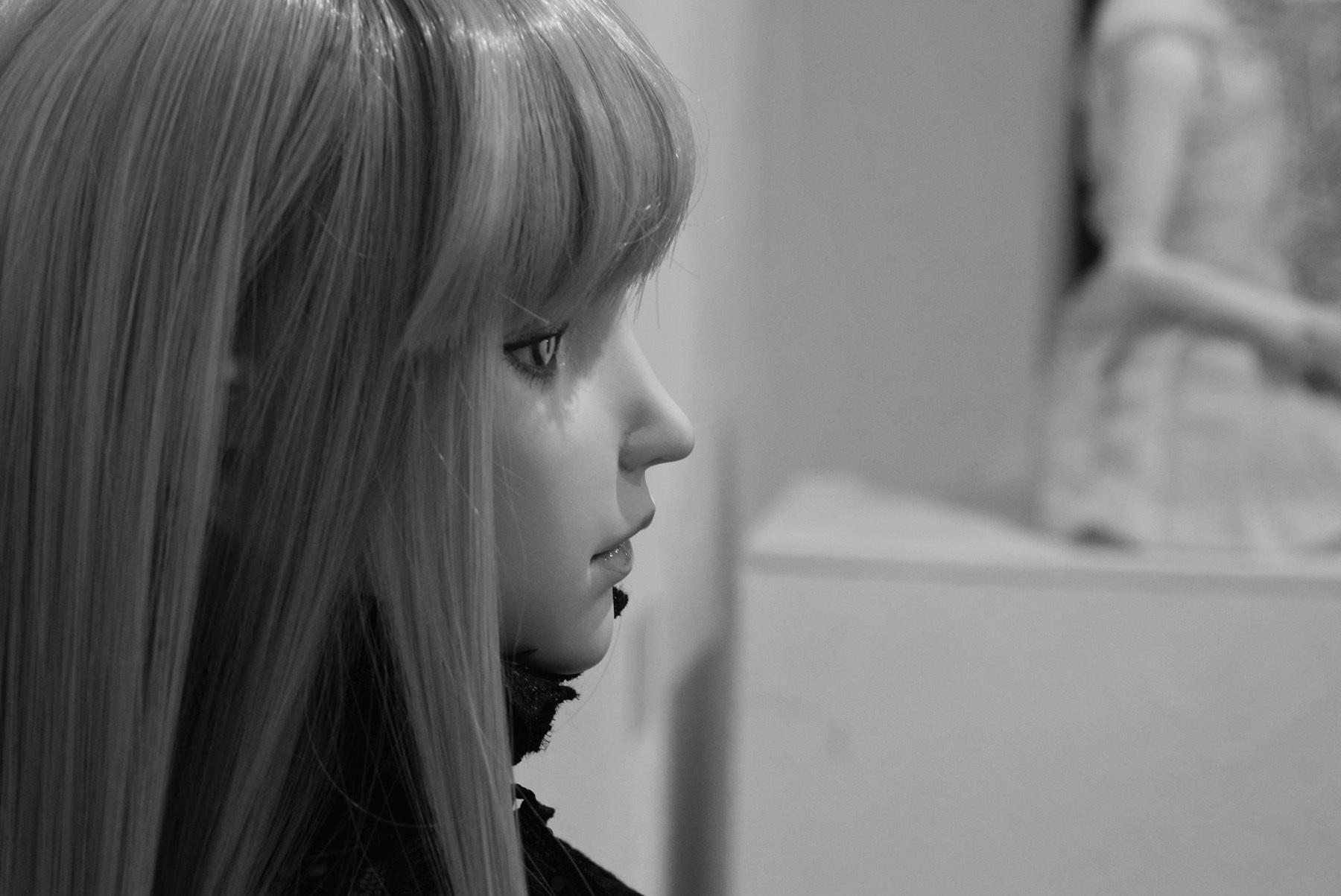 雨沢聖・槙宮サイ・江村あるめ 創作人形三人展 「sillage~シヤージュ」@ 最終日_e0272050_12445728.jpg