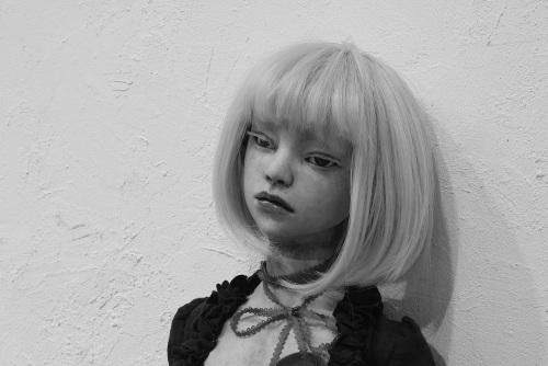 雨沢聖・槙宮サイ・江村あるめ 創作人形三人展 「sillage~シヤージュ」@ 最終日_e0272050_12445973.jpg