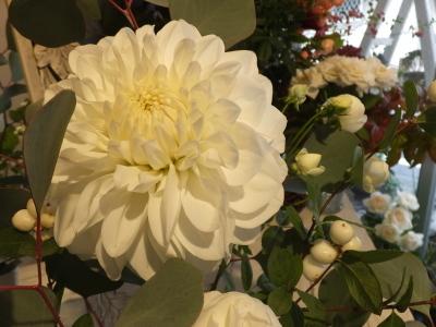 オークリーフ花の教室(大草さんと清水さんの作品)_f0049672_15132281.jpg