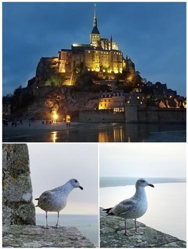 欧州旅行(3)(パリオペラ座とモンサンミッシェル)_a0204089_6392845.jpg