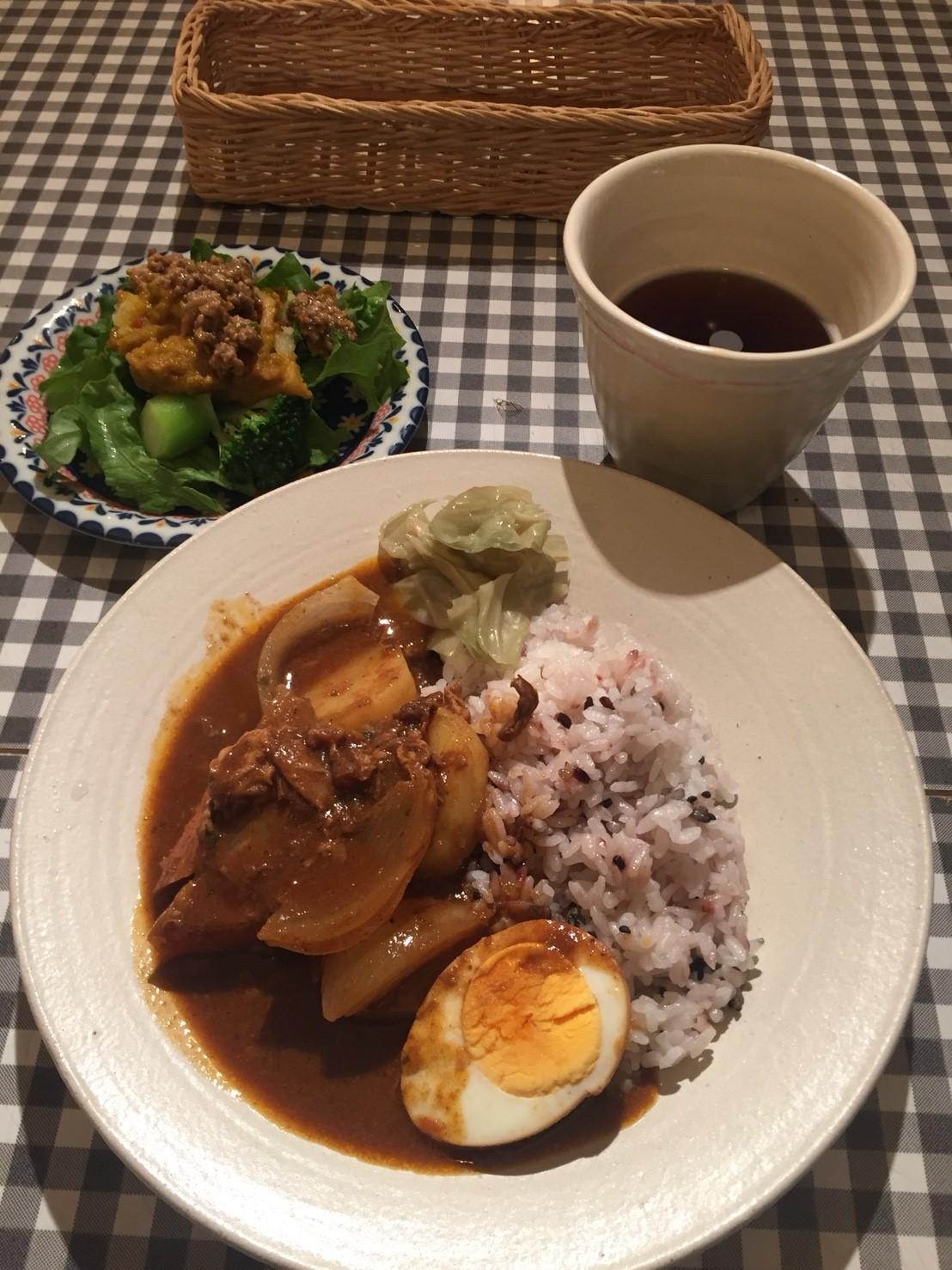 Tottoriカルマ まるなげ食堂 カレー_e0115904_01531832.jpg
