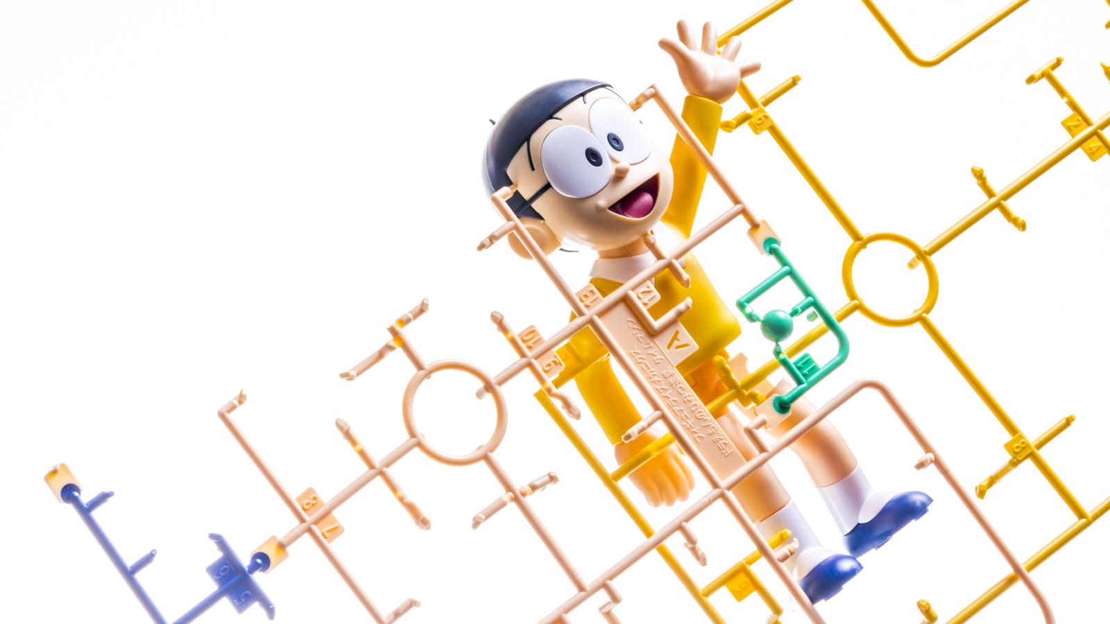 タイムマシンで動きを止められた「野比のび太のプラモデル」の話_b0029315_00145781.jpg