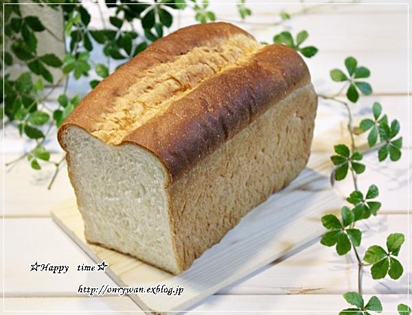 はんぺんカニカマフライ弁当とダブル食パンと~♪_f0348032_18053289.jpg