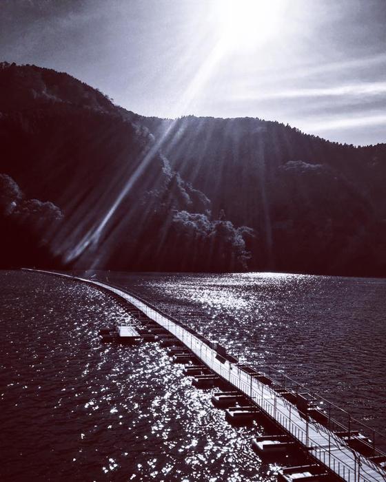 西多摩郡奥多摩町川野・奥多摩湖 / iPhone 6_c0334533_18485782.jpg