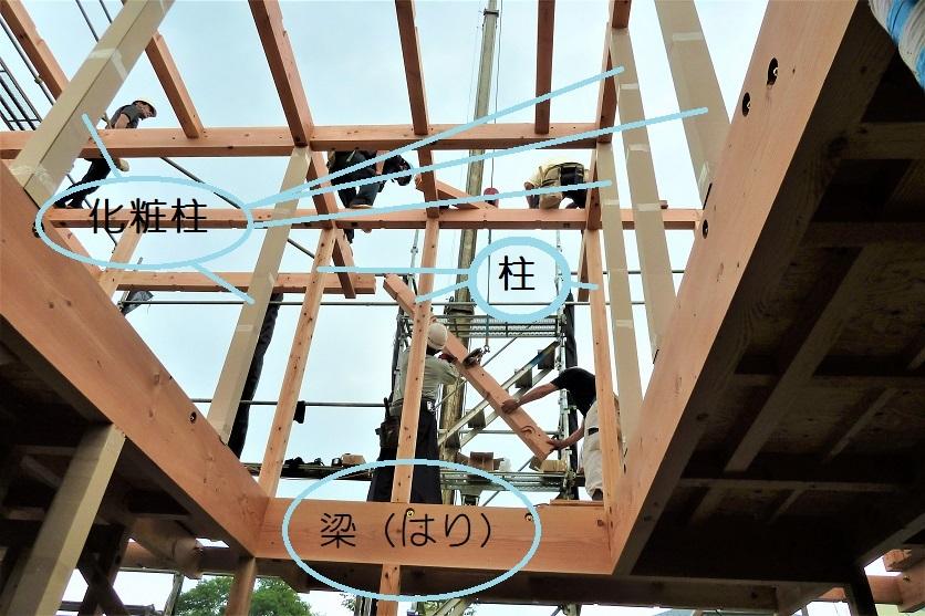 クボタ住建の造る家☆構造材はすべて無垢材_c0152341_10550657.jpg