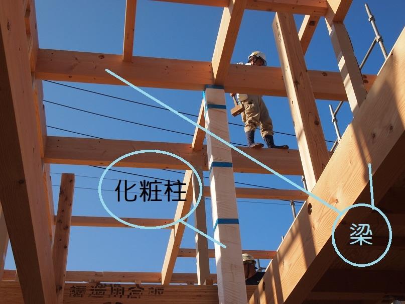 クボタ住建の造る家☆構造材はすべて無垢材_c0152341_11002910.jpg