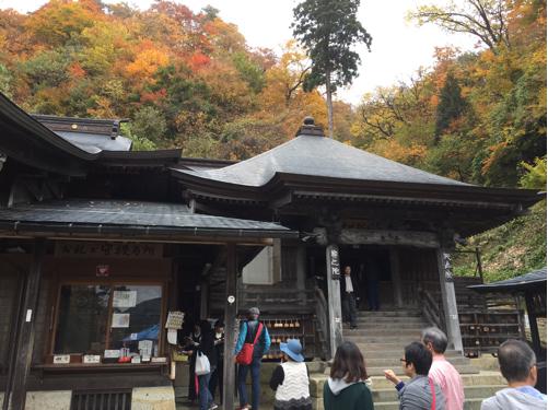 楽しい秋の温泉プチ旅行♪いざ山寺へ^^_f0207146_10515379.jpg