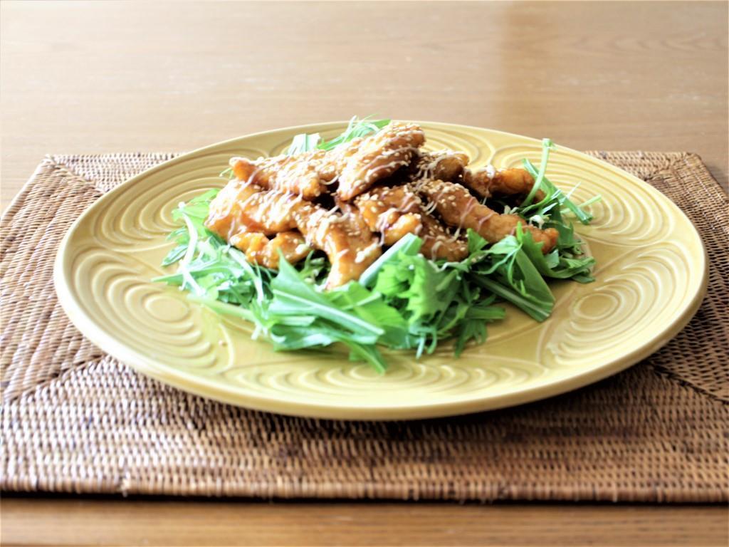 鶏むね肉のピリ辛マヨネーズ_f0220354_13332917.jpg