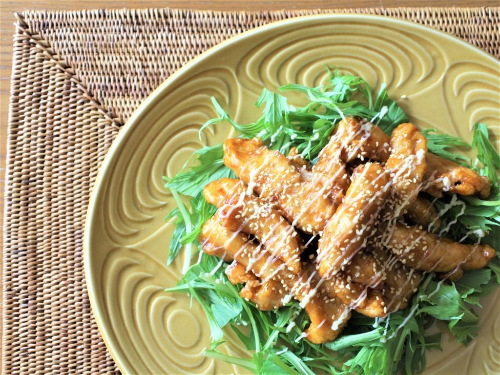 鶏むね肉のピリ辛マヨネーズ_f0220354_13333581.jpg