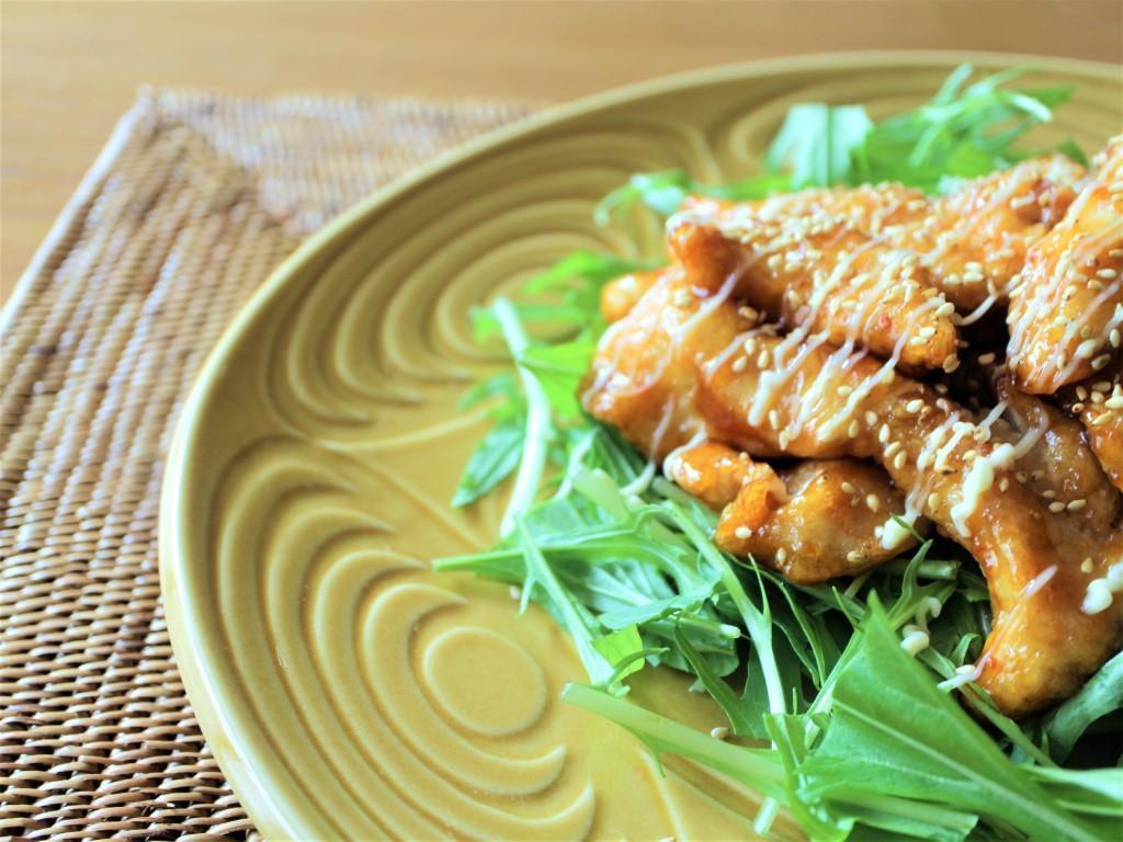 鶏むね肉のピリ辛マヨネーズ_f0220354_13333862.jpg