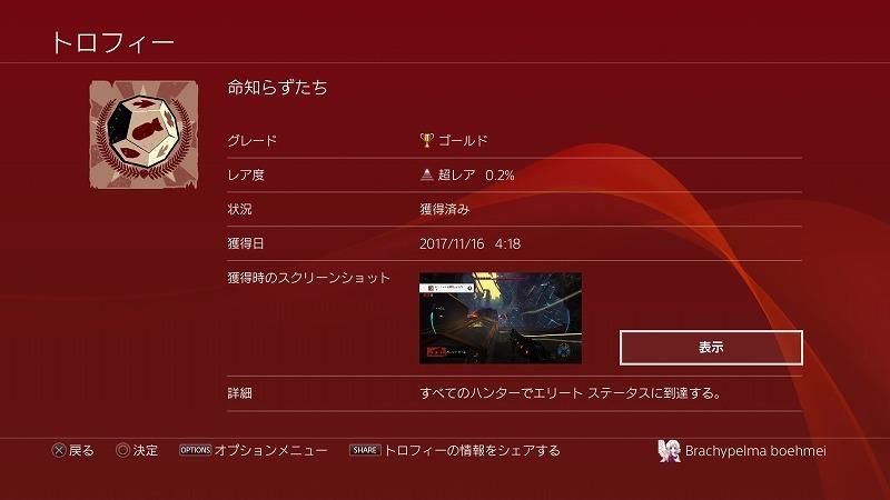 ゲーム「Evolve トロフィー:命知らずたち」_b0362459_15362314.jpg