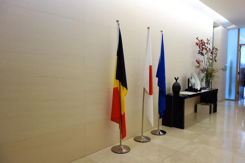ル プレジール ベルギー大使館公邸でのおもてなし講座_c0195496_12490736.jpg