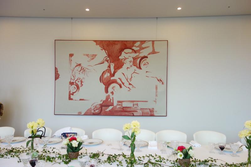 ル プレジール ベルギー大使館公邸でのおもてなし講座_c0195496_13062461.jpg