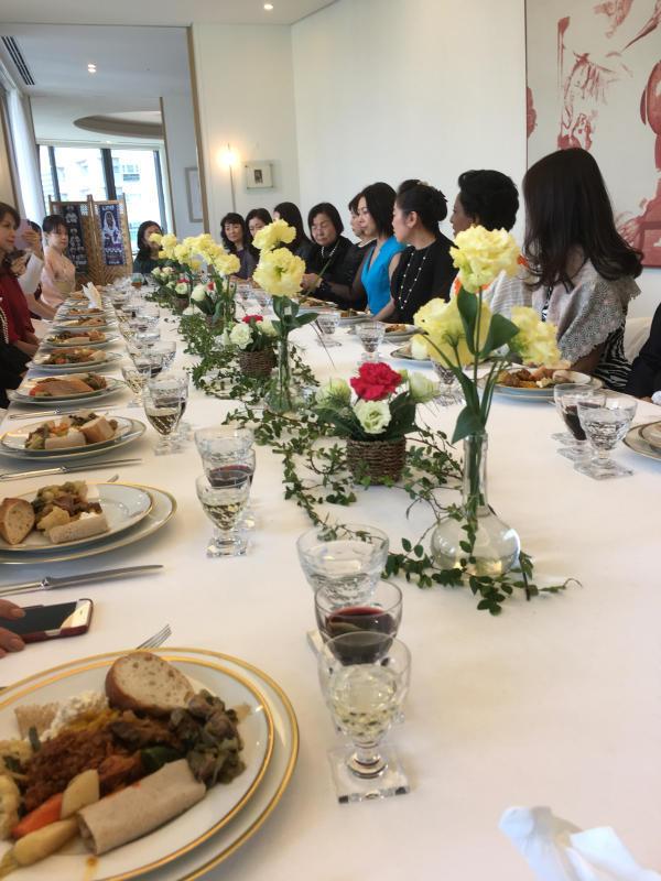 ル プレジール ベルギー大使館公邸でのおもてなし講座_c0195496_13105684.jpg