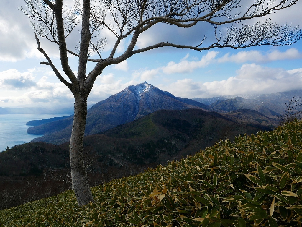 イチャンコッペ山と幌平山、2017.11.16_f0138096_18213125.jpg