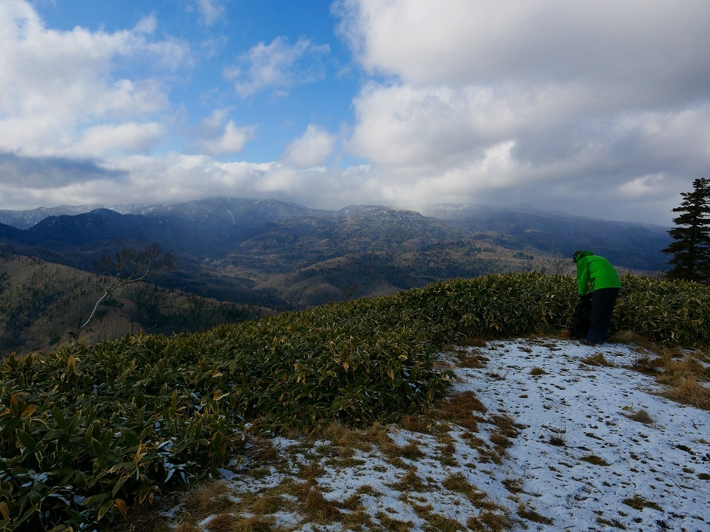 イチャンコッペ山と幌平山、2017.11.16_f0138096_18224286.jpg