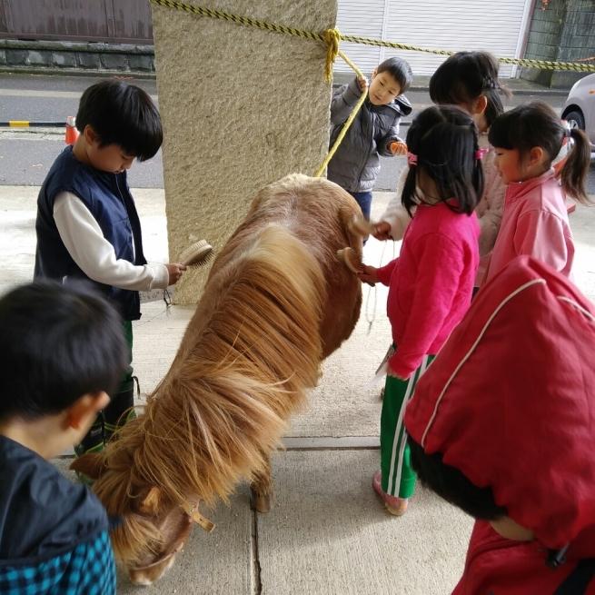 大手町小学生一年生との交流会_c0212598_17330605.jpg