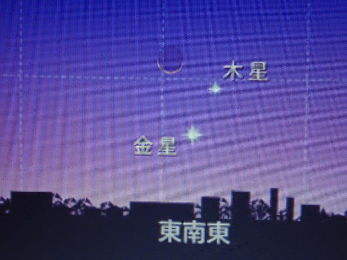 天体ショー                        月木星金星大接近2017/11/17_d0251807_07050788.jpg
